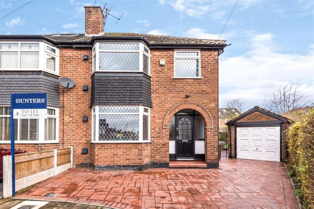 Thumbnail Semi-detached house to rent in Greenacre Lane, Worsley, Manchester