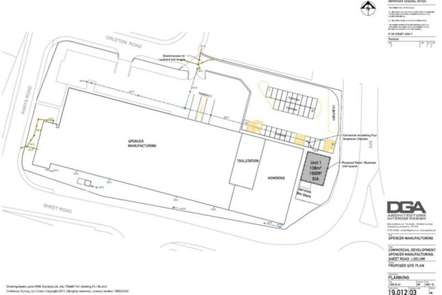 Thumbnail Commercial property to let in Unit 1 Ludlow Business Park, Orleton Road, Ludlow
