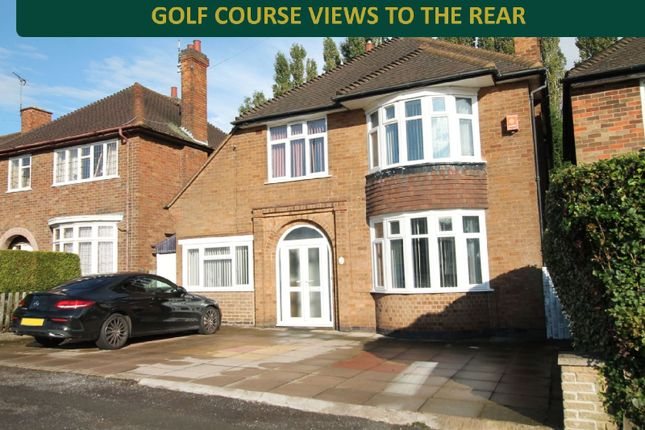 Thumbnail Detached house for sale in Stoughton Drive, Evington, Leicester