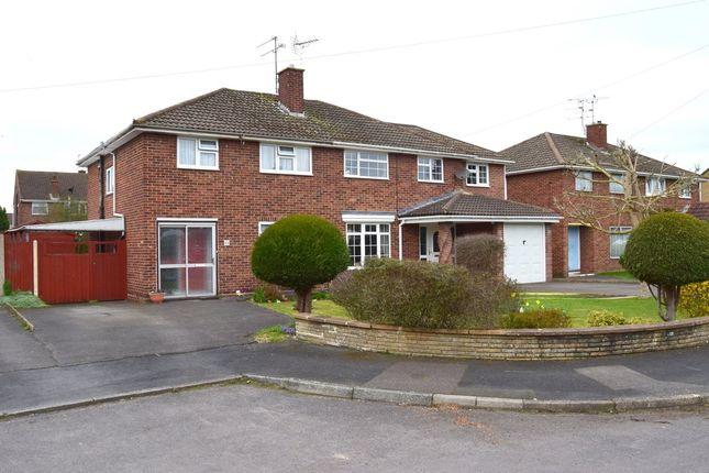 3 bed semi-detached house for sale in Riverside Close, Farnborough