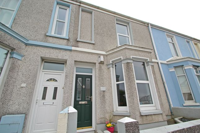 Thumbnail Terraced house to rent in Weston Park Road, Peverell, Plymouth