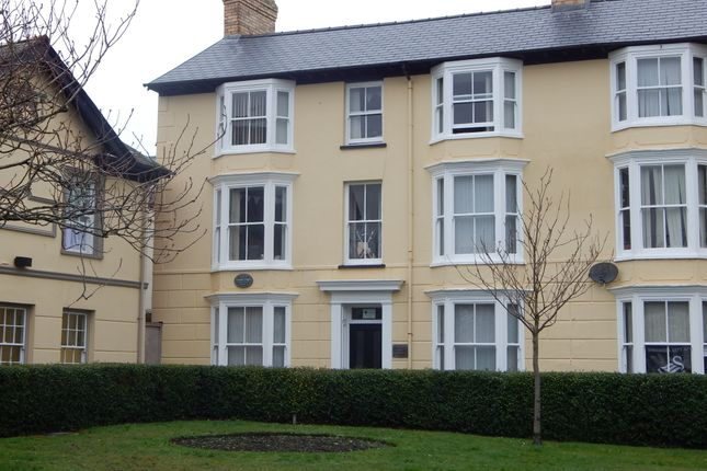 Thumbnail Town house to rent in Queens Square, Aberystwyth