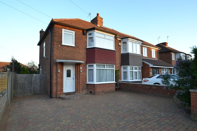 Thumbnail Semi-detached house to rent in Manor Way, Borehamwood