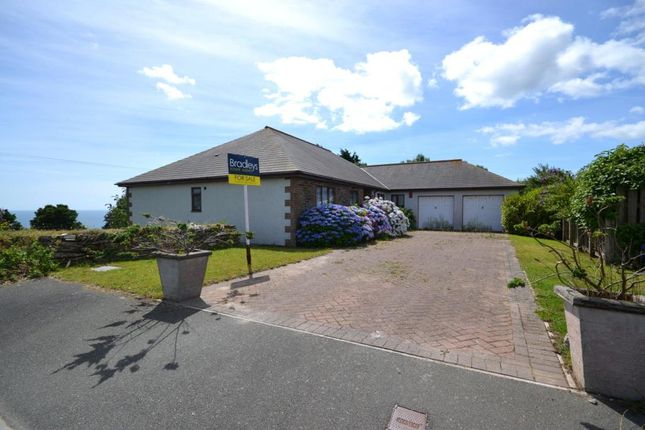 Thumbnail Detached bungalow for sale in Baydown, East Looe, Cornwall