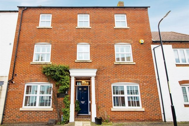 Thumbnail Terraced house for sale in Poppy Mead, Kingsnorth, Ashford, Kent