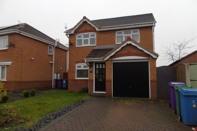 Thumbnail Detached house to rent in Twigden Close, Liverpool