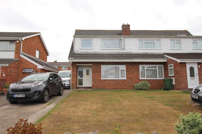 Thumbnail Semi-detached house to rent in Causeway View, Nailsea, Bristol
