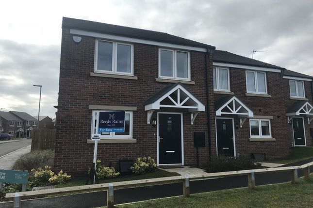 3 bedroom semi-detached house for sale in Hill Top View, Crow Trees Lane, Bowburn