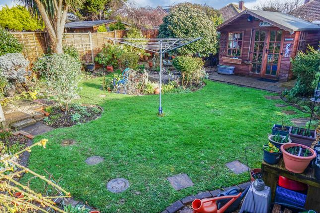Rear Garden of Meadow Walk, Middleton On Sea, Bognor Regis PO22