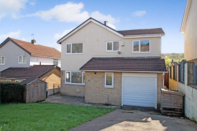 Thumbnail Detached house for sale in Celyn Isaf, Tonyrefail, Rhondda Cynon Taff