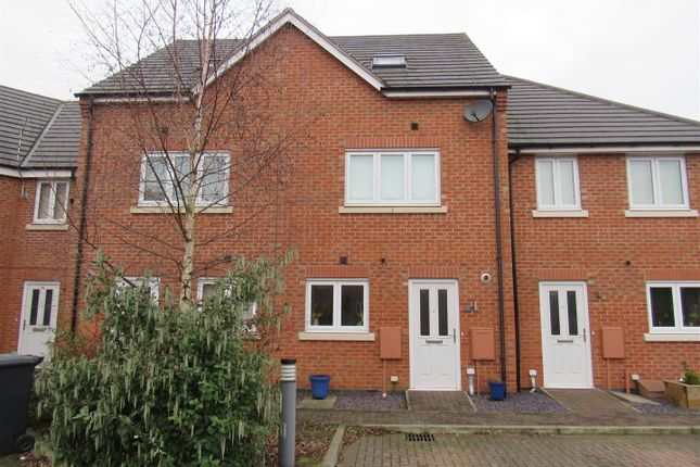Thumbnail Town house for sale in Marsden Avenue, Queniborough, Leicester