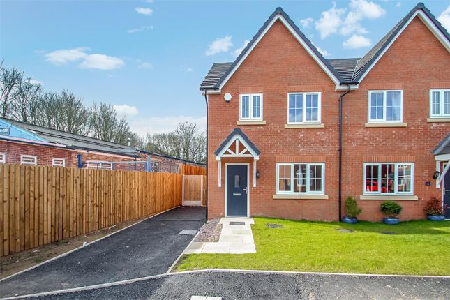 Thumbnail Semi-detached house for sale in St Dominic's Place, Hartshill, Stoke-On-Trent