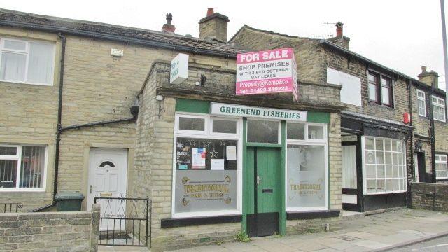 Thumbnail Retail premises for sale in Green End, Bradford
