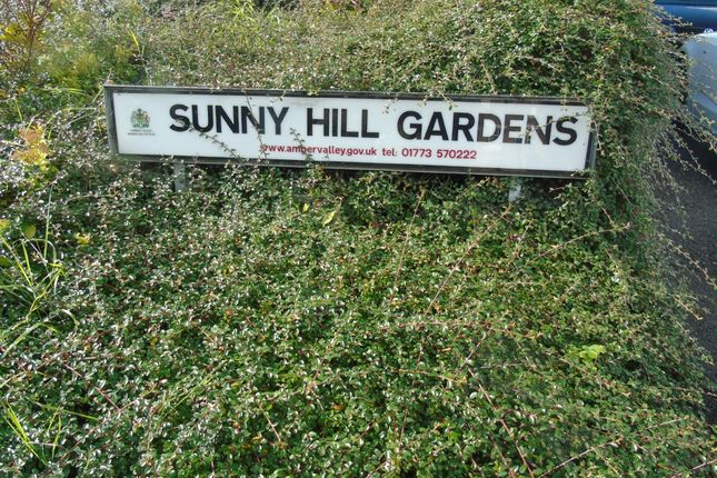Thumbnail Terraced house to rent in Sunny Hill Gardens, Milford, Belper