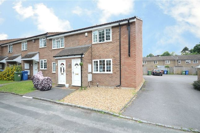 Thumbnail End terrace house for sale in Rother Close, Sandhurst, Berkshire