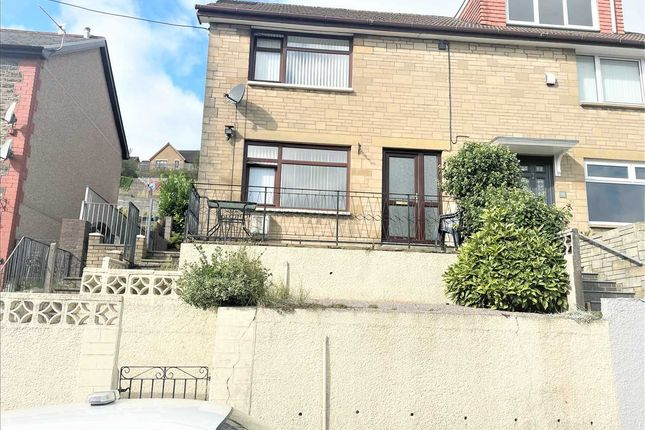Thumbnail Semi-detached house for sale in Turberville Road, Porth