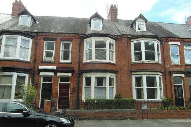 Thumbnail Terraced house to rent in North Lodge Terrace, Darlington