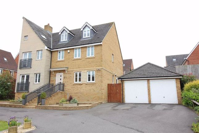 Thumbnail Detached house for sale in Loop Road, Mangotsfield, Bristol