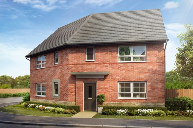 "Thumbnail Detached house for sale in ""Findern"" at Woodcock Square, Mickleover, Derby"