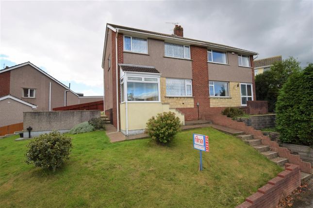 Thumbnail Semi-detached house for sale in Collard Crescent, Barry