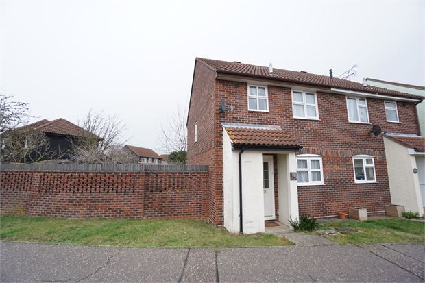 Thumbnail Semi-detached house for sale in Honeysuckle Way, Witham, Essex.