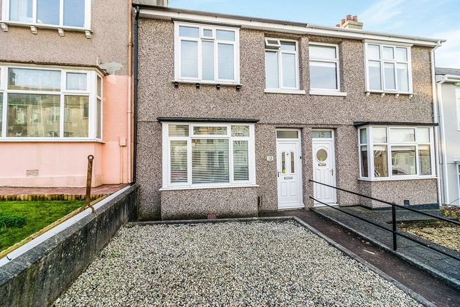 Thumbnail Terraced house for sale in Fisher Road, Stoke, Plymouth