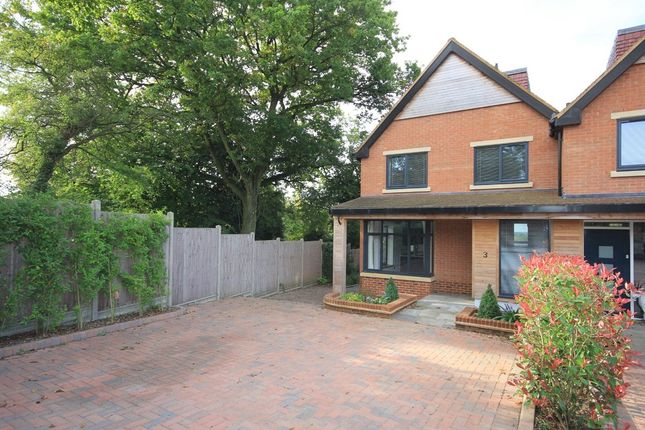 Thumbnail Semi-detached house for sale in Chiltern View Close, Lacey Green, Princes Risborough