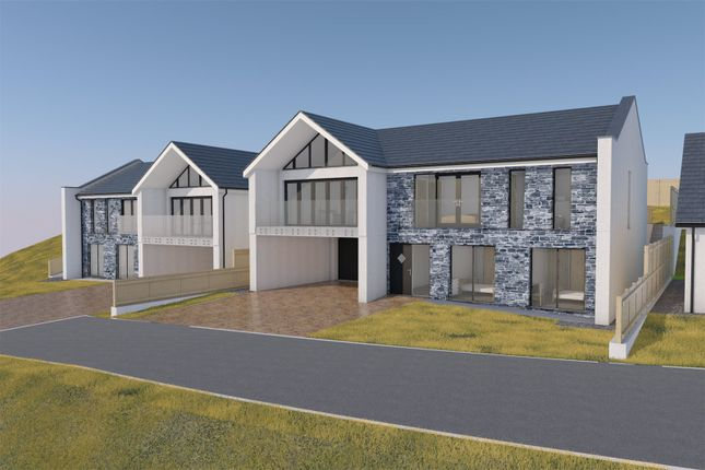 Thumbnail Detached house for sale in Castle View Park, Mawnan Smith, Falmouth, Cornwall