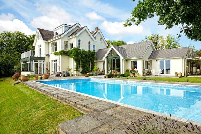 Thumbnail Detached house for sale in West Chiltington Lane, Coneyhurst, Billingshurst, West Sussex