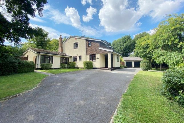 Thumbnail Detached house for sale in Station Road, Odsey, Baldock