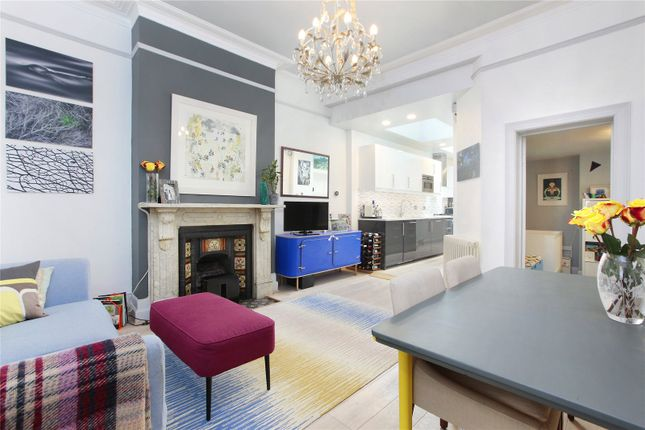 Thumbnail Flat for sale in Alderbrook Road, Ground Floor Flat, Clapham South, London