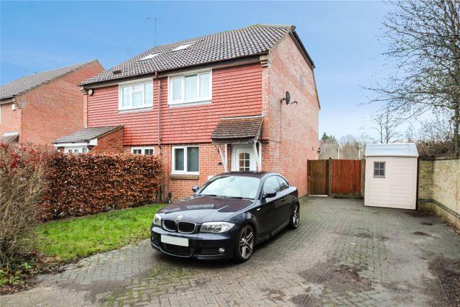 Thumbnail Semi-detached house for sale in Threshers Field, Hever Castle, Hever, Edenbridge