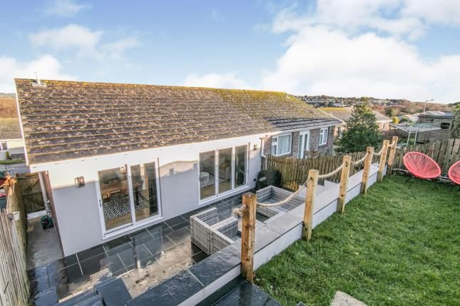 Rear Garden of The Downs, West Looe, Cornwall PL13