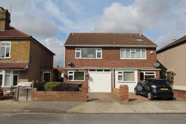 Thumbnail Semi-detached house for sale in Fruen Road, Feltham