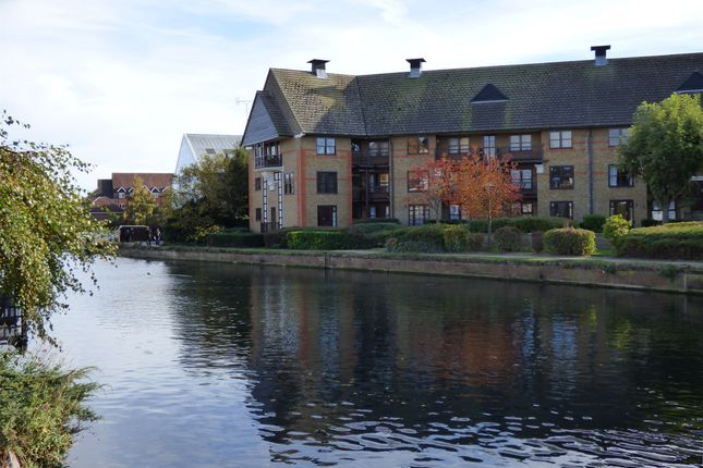 Thumbnail Flat for sale in Wickhams Wharf, Viaduct Road, Ware