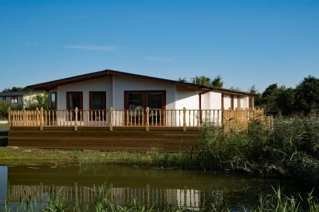 Thumbnail Lodge for sale in Carnoustie Court, Tydd St Giles, Wisbech