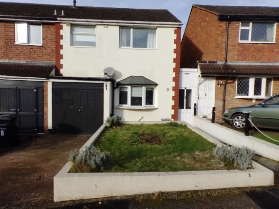 Thumbnail Semi-detached house for sale in Walnut Croft, Baddesley Ensor, Atherstone, Warwickshire