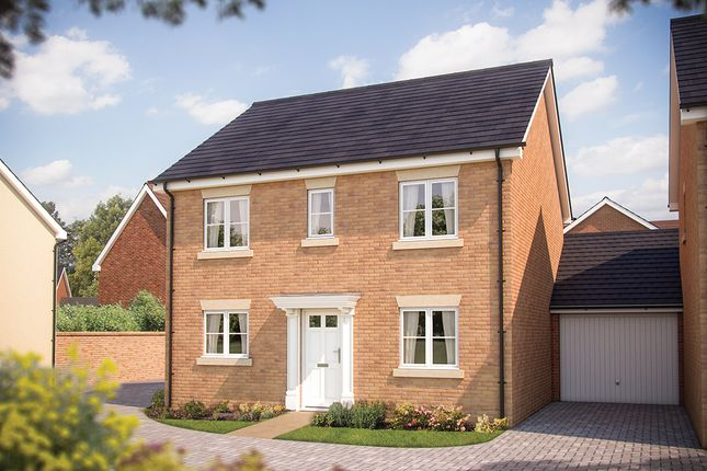 "Thumbnail Detached house for sale in ""The Buxton"" at Hadden Hill, Didcot, Oxfordshire, Didcot"