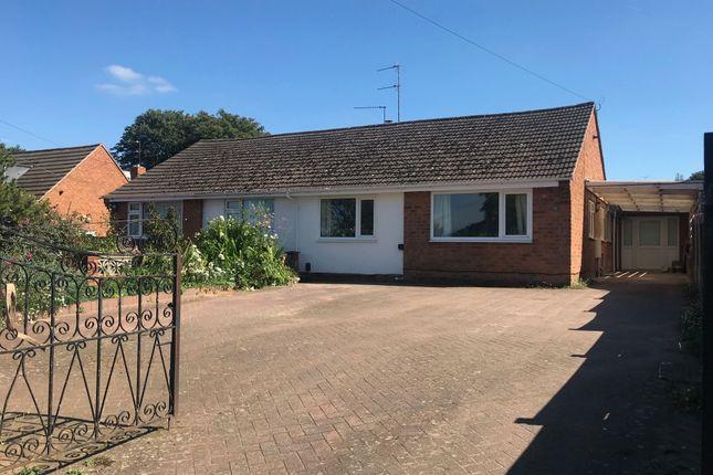 Thumbnail Semi-detached bungalow for sale in Hillside Drive, Kidderminster