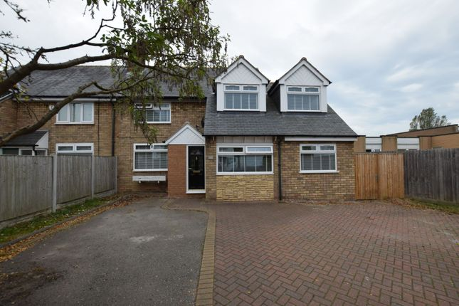 Thumbnail Semi-detached house for sale in Manor Drive, Upton