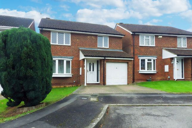 Thumbnail Detached house to rent in Tyburn Close, Swindon, Wiltshire