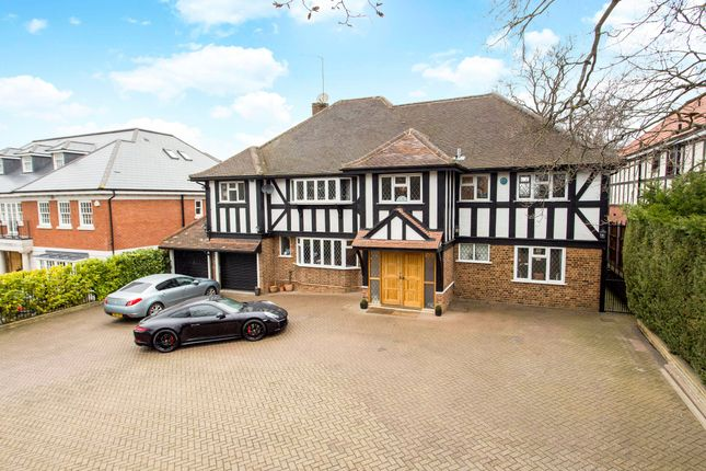 Thumbnail Detached house for sale in Stradbroke Drive, Chigwell, Essex