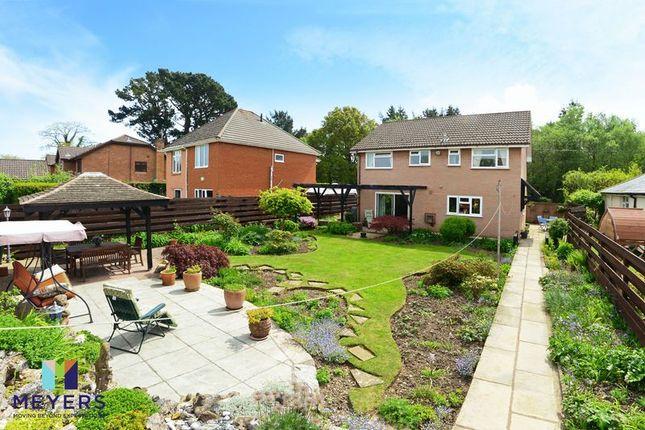 Thumbnail Detached house for sale in Ivor Road, Corfe Mullen, Wimborne