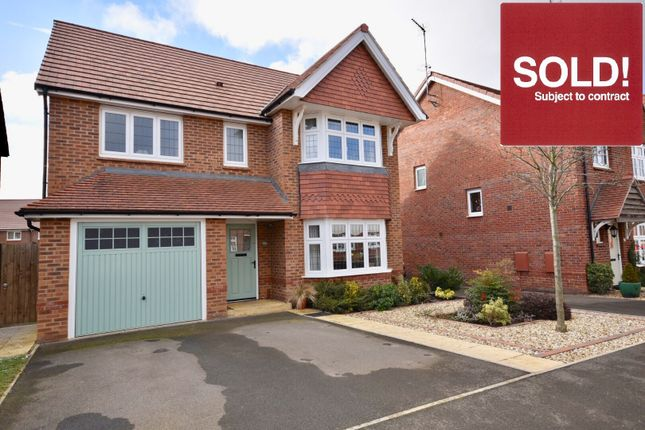 4 bed detached house for sale in Nicholas Road, Barton Seagrave, Kettering