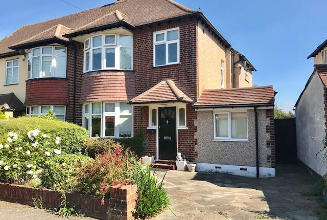 Thumbnail Semi-detached house for sale in Stafford Close, Cheam Village