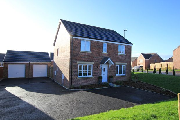 Thumbnail Detached house for sale in Heol Y Parc, Cefneithin, Nr. Cross Hands, Carmarthenshire