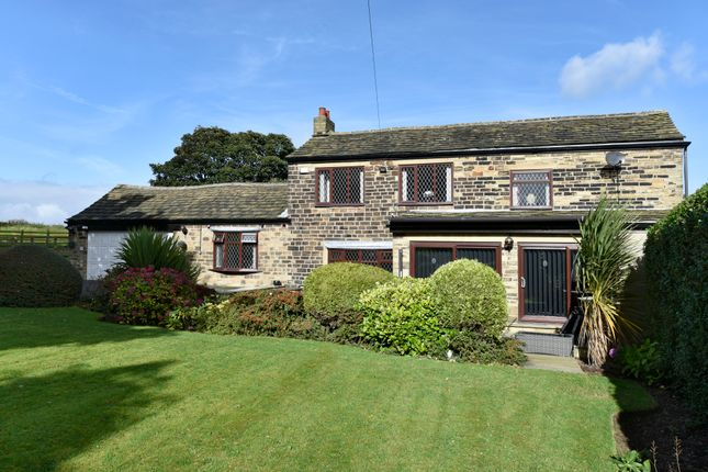 Thumbnail Farmhouse for sale in Hollin Hall Lane, Mirfield