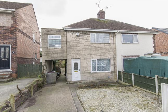 Thumbnail Semi-detached house for sale in Houfton Road, Bolsover, Chesterfield