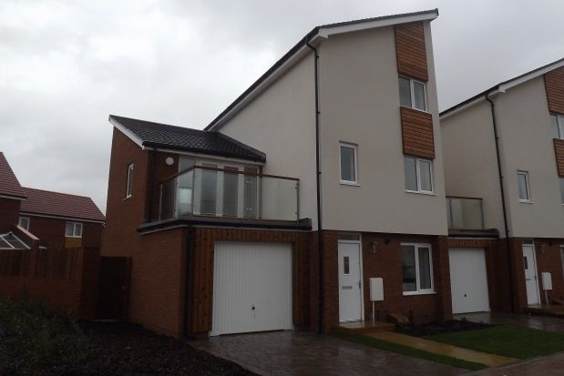 Thumbnail End terrace house to rent in Hargreaves Close, Basingstoke
