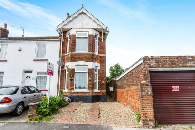 Thumbnail End terrace house for sale in Elgin Road, Freemantle, Southampton